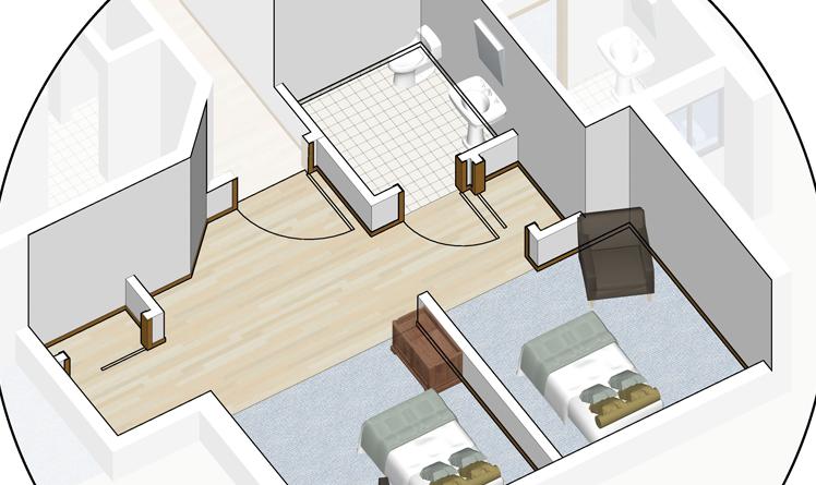 Shared-Bedroom-Glen-Haven-Village